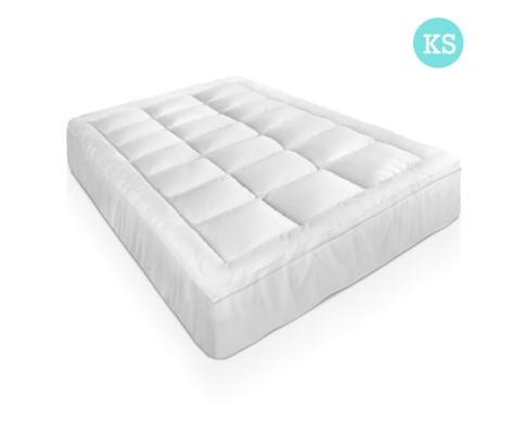 King Single Size Mattress Topper - Goose Feather Filling | 360HomeWare