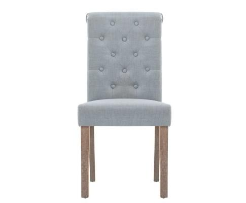 French Provincial Dining Chair - Light Grey | 360HomeWare