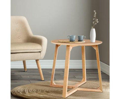 Wooden Round Coffee Table | 360HomeWare
