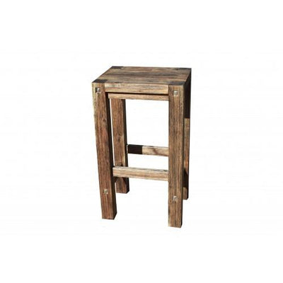 Sturdy Stool Black Brush Finish | 360HomeWare