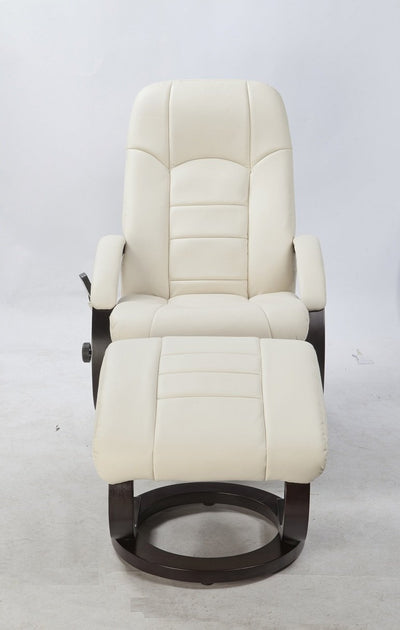 PU Leather Massage Chair Recliner Ottoman Lounge Remote | 360HomeWare