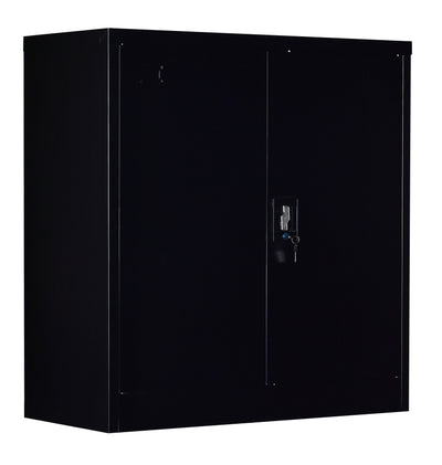 Two-Door Shelf Office Gym Filing Storage Locker Cabinet Safe | 360HomeWare