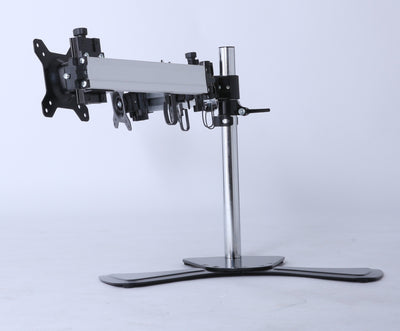 Triple Tilt LCD Monitor Mount Freestanding Desktop Stand | 360HomeWare
