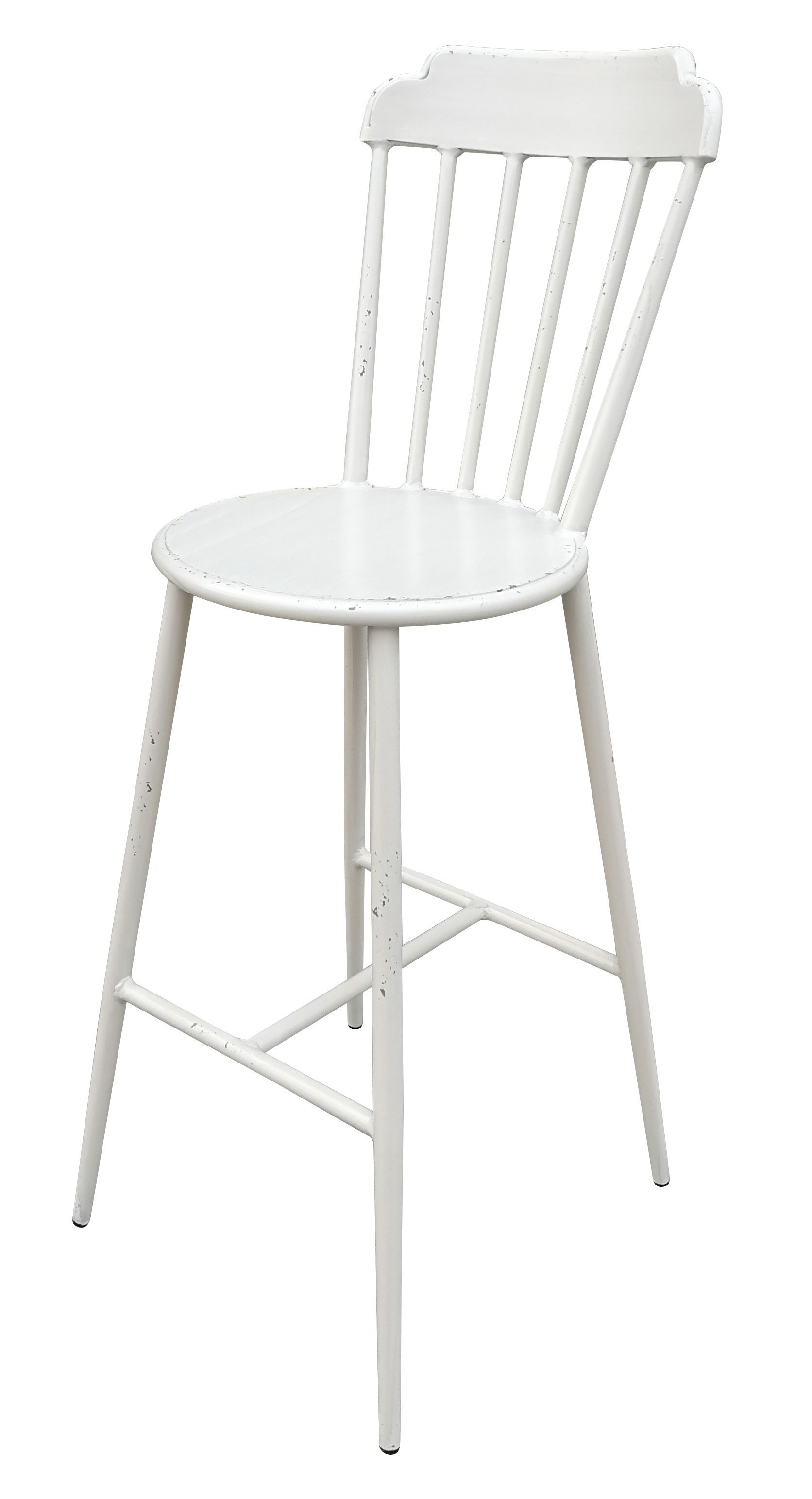 Aluminium Windsor Bar Chair Retro White Set of 2 | 360HomeWare