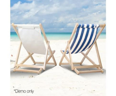 Fodable Beach Sling Chair - Sand | 360HomeWare