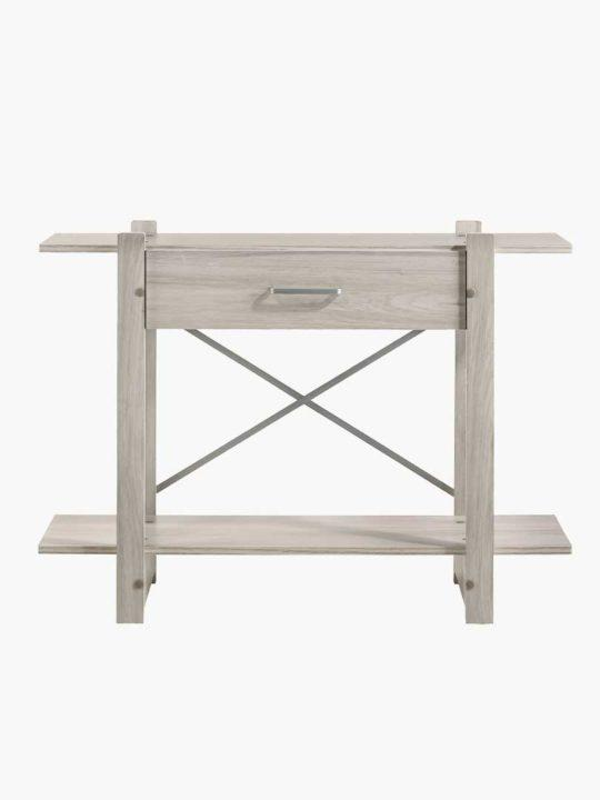 White Oak Console Hallway Table | 360HomeWare