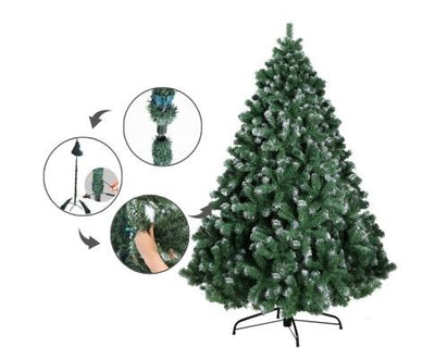 7FT Christmas Snow Tree | 360HomeWare
