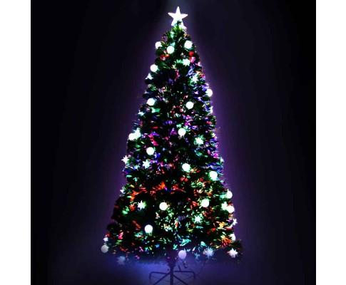2.1M 7FT LED Christmas Tree Multi Colour - 260 Tips | 360HomeWare