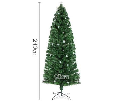 2.4M 8FT LED Christmas Tree Multi Colour - 320 Tips | 360HomeWare