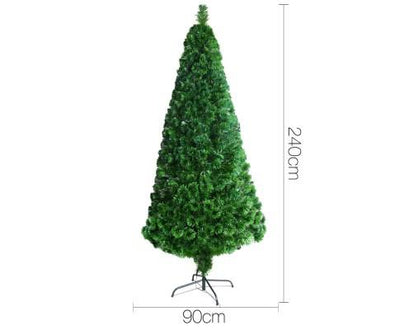 2.4M 8FT LED Christmas Tree Multi Colour - 500 Tips | 360HomeWare