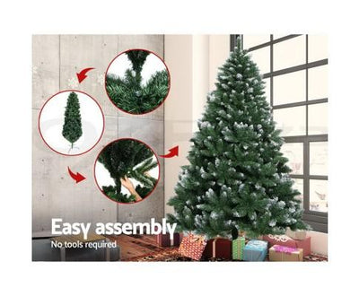 6FT Christmas Snow Tree | 360HomeWare