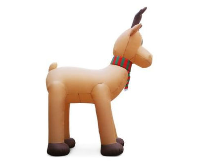 5M Inflatable Giant Reindeer | 360HomeWare