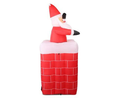 Inflatable Pop-up Santa | 360HomeWare