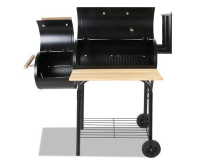 2-in-1 Offset BBQ Smoker | 360HomeWare