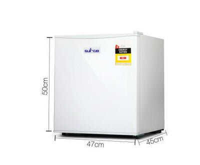48L Portable Mini Bar Fridge - White | 360HomeWare