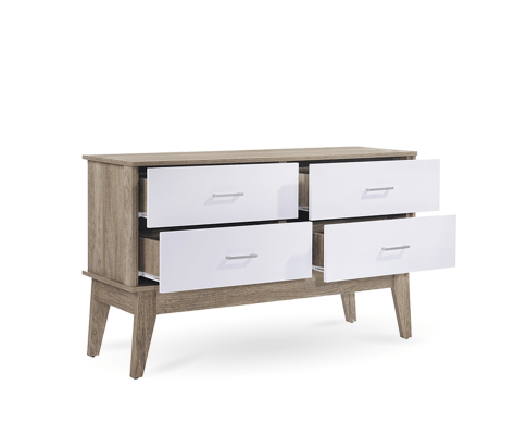 Scandinavian Sideboard Buffet Table Oak | 360HomeWare