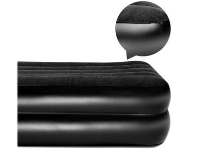 Queen Size Inflatable Air Mattress - Black | 360HomeWare