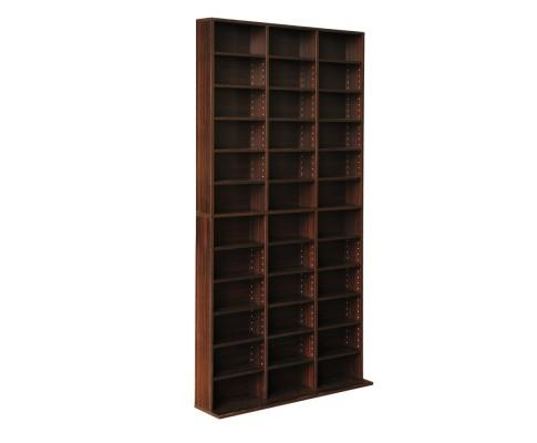 Adjustable Book Storage Shelf Rack Unit - Expresso | 360HomeWare