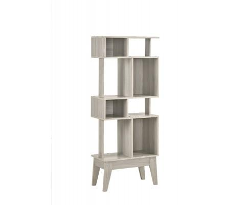 Display Shelf Cabinet In White Oak | 360HomeWare