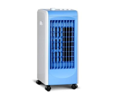 Air Cooler and Humidifier Conditioner - White & Blue | 360HomeWare