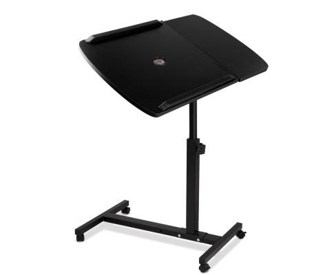 Adjustable Computer Stand with Cooler Fan - Black | 360HomeWare