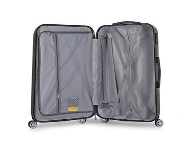 20inch Lightweight Hard Suit Case Luggage Black | 360HomeWare