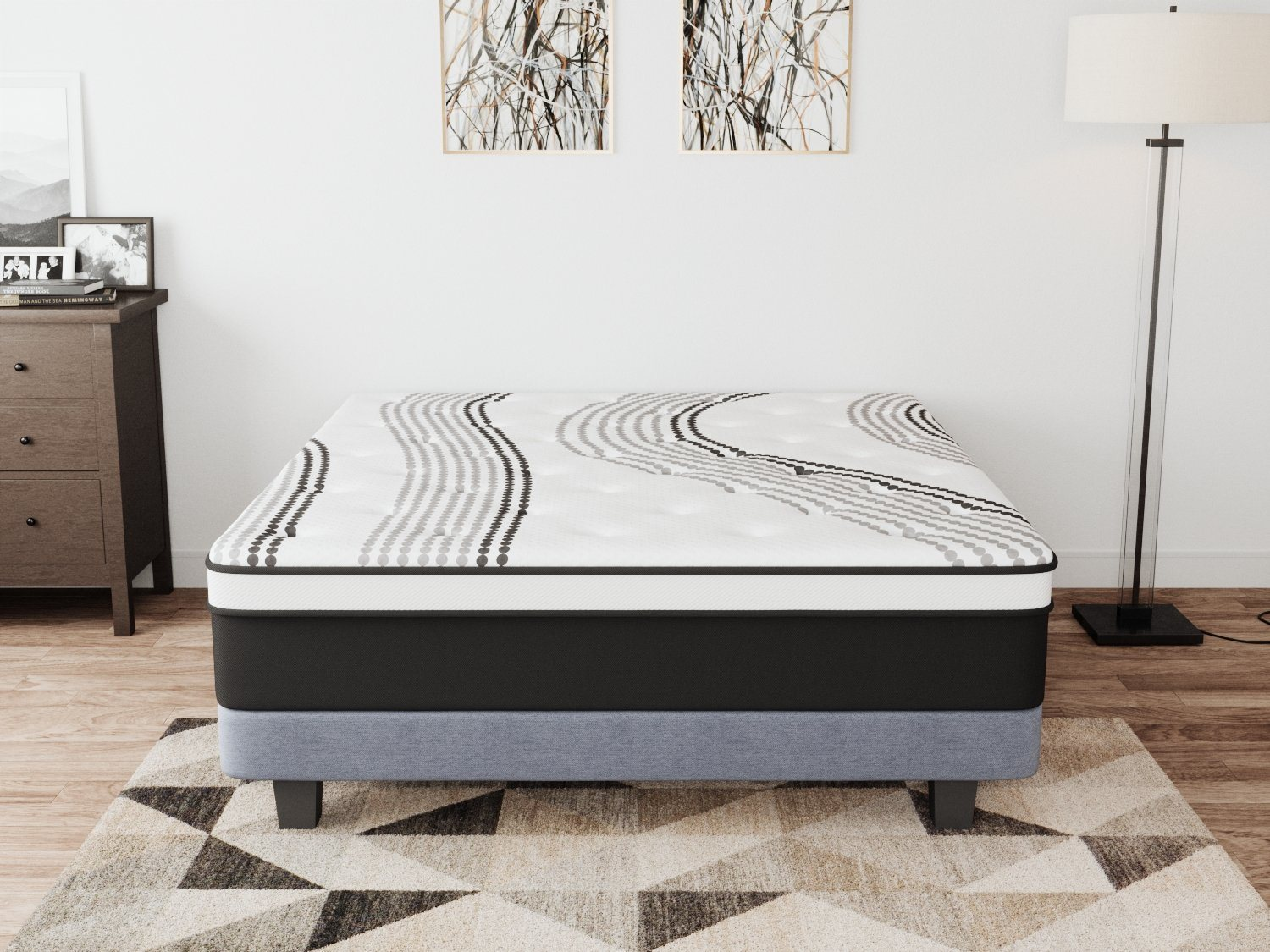 5-Zone Euro Foam Spring Mattress | 360HomeWare