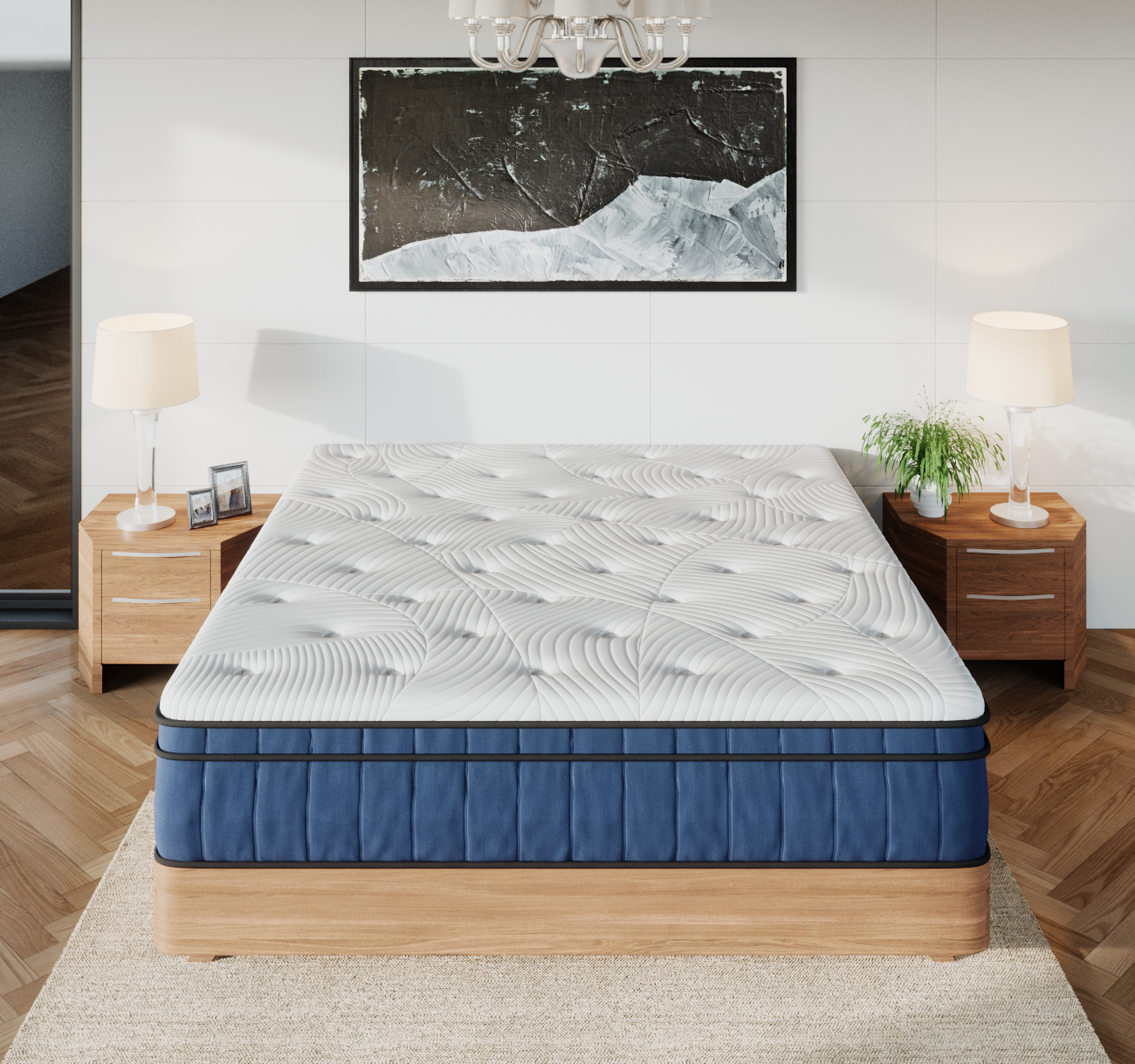 Cooling Gel Memory Foam Multi-Zone 34cm - King (20 Year Warranty) | 360HomeWare
