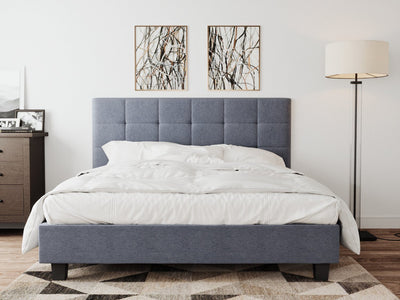 Soro  Bed Frame - Grey | 360HomeWare