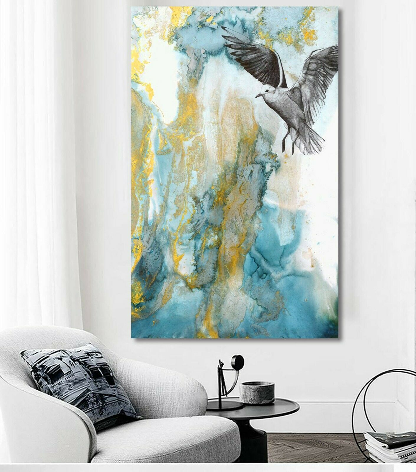 The Blue Freedom Canvas | 360HomeWare