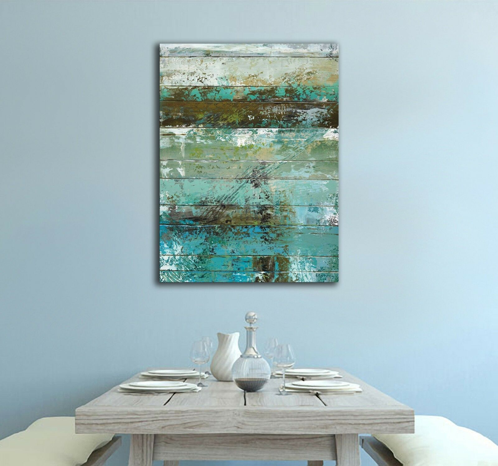 Green Abstract Canvas | 360HomeWare