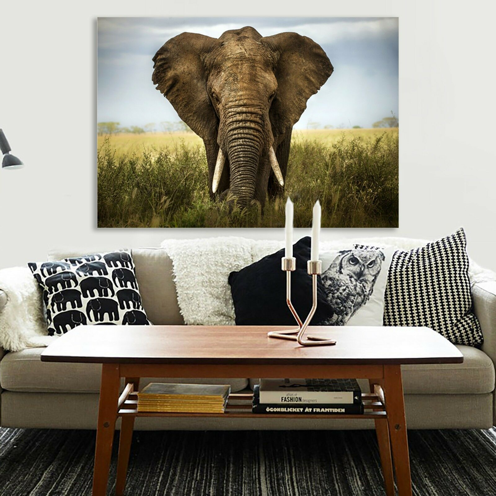 Huge Elephant Canvas | 360HomeWare