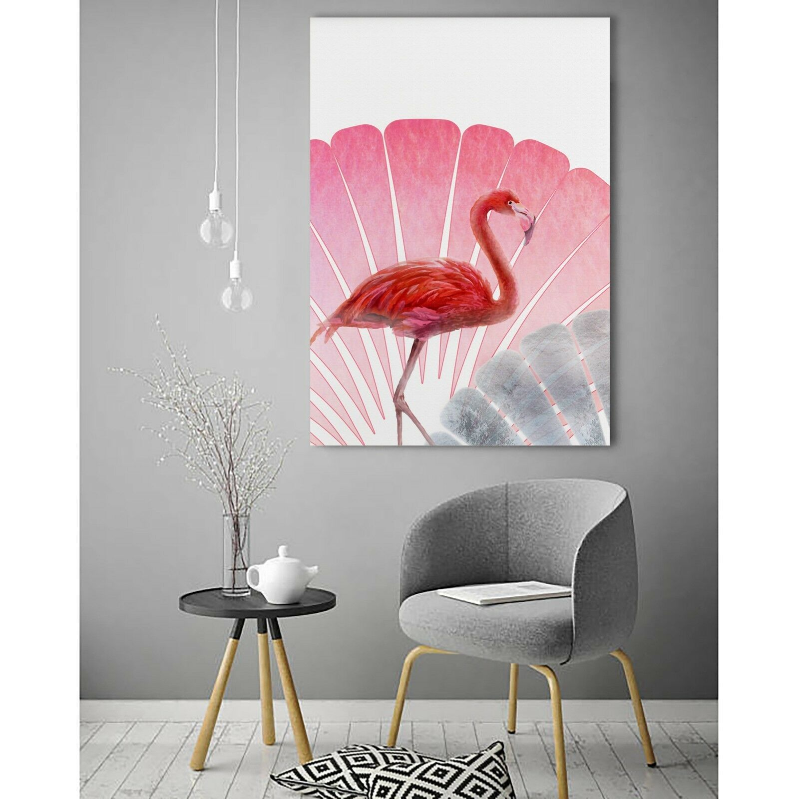 The Pink Flamingo Canvas | 360HomeWare