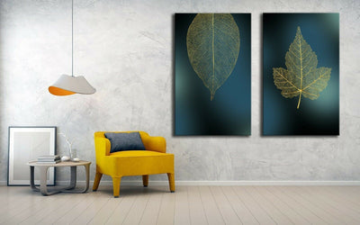 The Golden Leaf Canvas | 360HomeWare