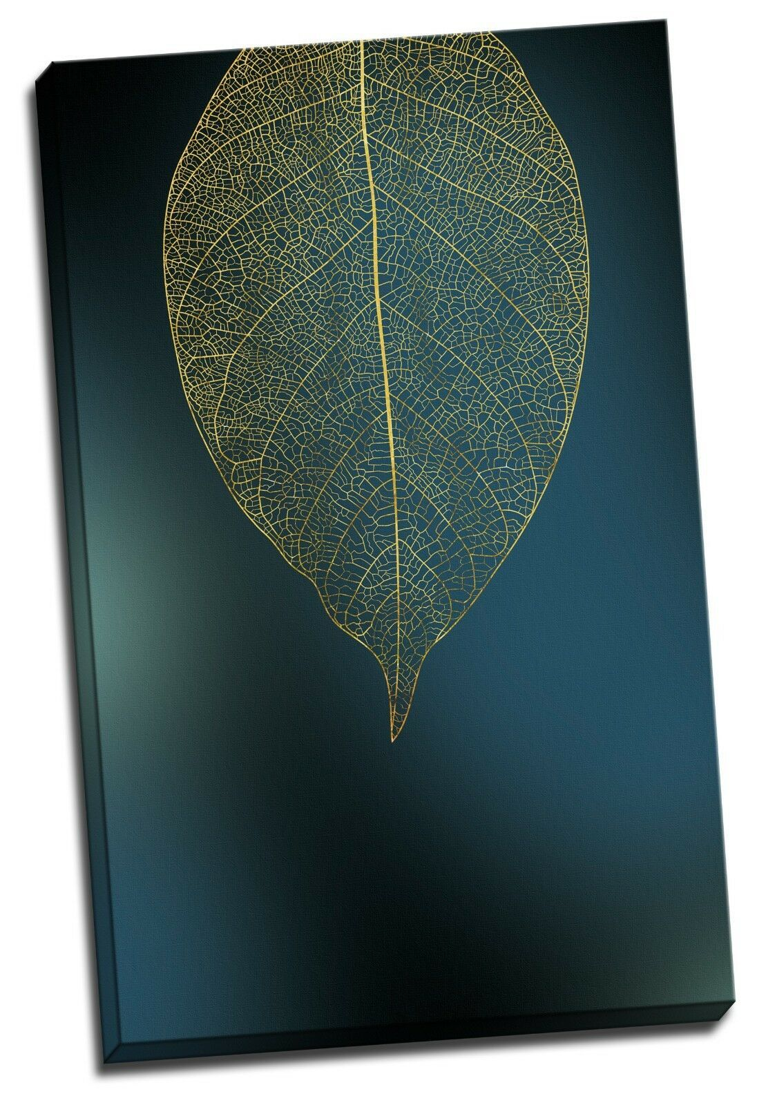 Golden Round Leaf Canvas | 360HomeWare