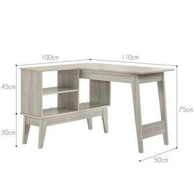 L Shaped Office Computer Desk Corner Table | 360HomeWare