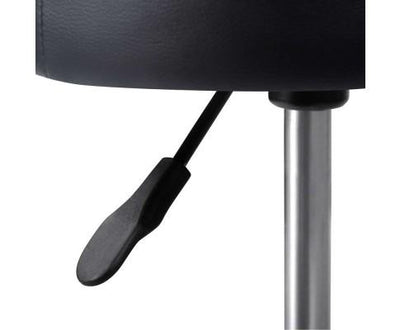 PU Leather Swivel Salon Stool - Black | 360HomeWare