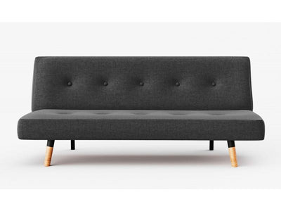 Fabric Sofa Bed ( Charcoal) | 360HomeWare