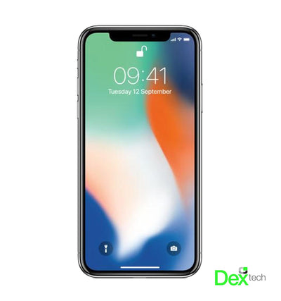 iPhone X 256GB - Silver | C