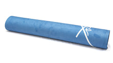 Load image into Gallery viewer, LUVe Yoga Microfibre Natural Yoga Mat - Turkish Blue