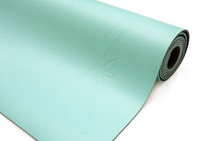 Load image into Gallery viewer, LUVe Yoga Premium Natural Yoga Mat - Aquamarine