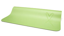 Load image into Gallery viewer, LUVe Yoga Premium Natural Yoga Mat - Nile Green
