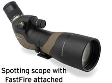 Burris HD Spotting Scope with FastFire Attached