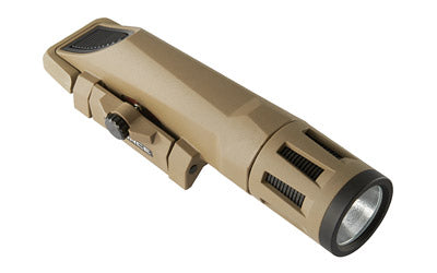 INFORCE WMLx Weapon Light, Flat Dark Earth Finish, front angle view