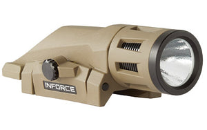 INFORCE WML Weapon Light, Flat Black Earth finish, side view