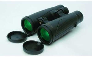 Konus Titanium OH Binoculars, side view with caps off