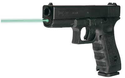 LaserMax LMS-1141G LASER on Glock, side view