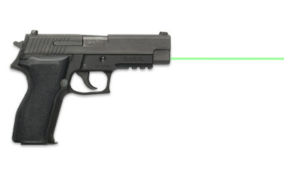 LaserMax LMS-2261G Green Laser on sig sauer p226, side view