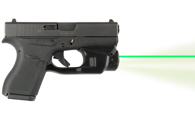 LaserMax GRIPSENSE LIGHT/LASER, on Glock, side view