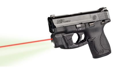LaserMax Red Light/Laser, on S and W, side view